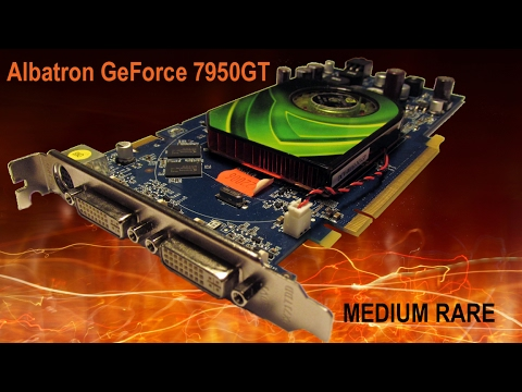 Видеокарта Albatron GeForce 7950 GT MEDIUM RARE