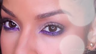 Holiday Glitter Smokey Eye with BeautyByLee | Destination Beauty Thumbnail