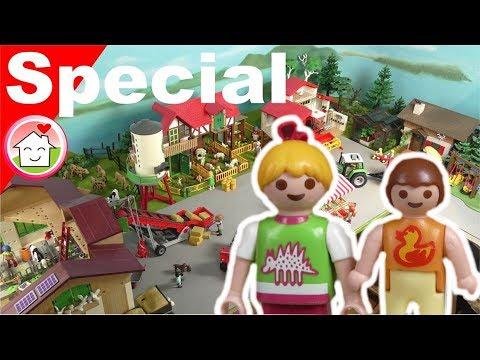 Playmobil Film deutsch - Bauernhof Playmobilsammlung von Familie Hauser