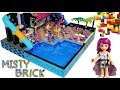 Lego Friends Pop Star Swimming Pool 3 by Misty Brick.