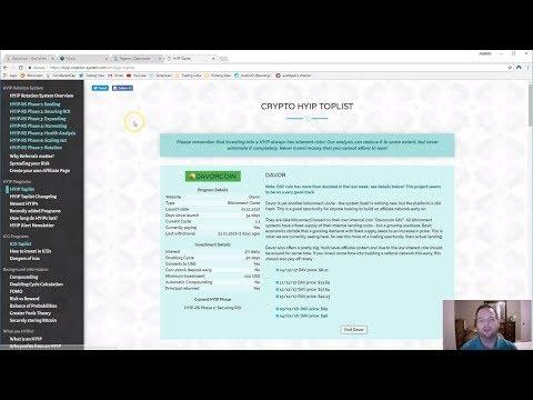 HYIP Lending Platforms  (Enter at your own risk) - Davor, FiCoin, PagareX
