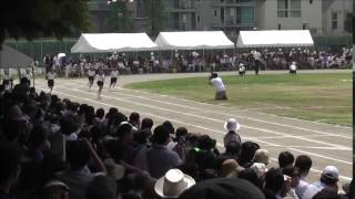 2015年05月23日運動会小学5年女子80m走