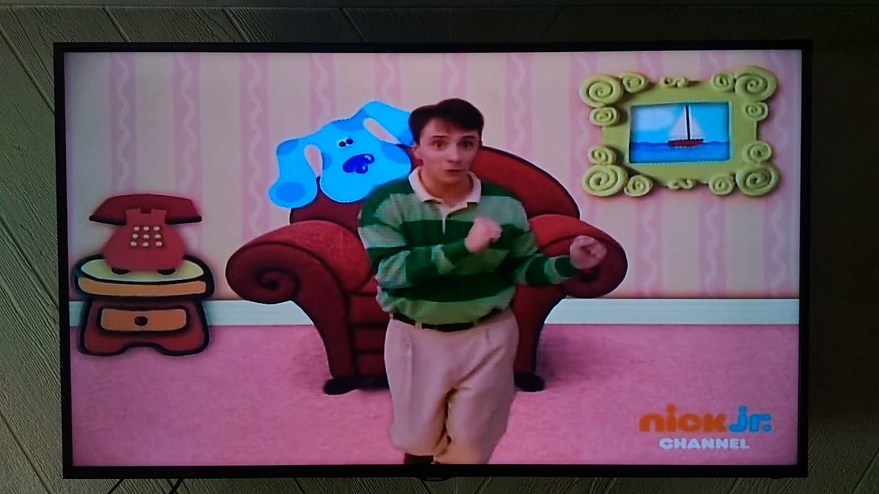 Blue S Clues We Just Figured Out Blue S Clues Blue Goes To The Beach Youtube