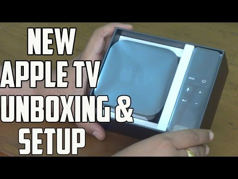 New Apple TV (4th Gen) 2015 India Unboxing and Setup