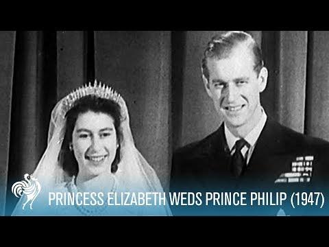 A Royal Wedding: Princess Elizabeth Weds Philip (1947)   British Pathé
