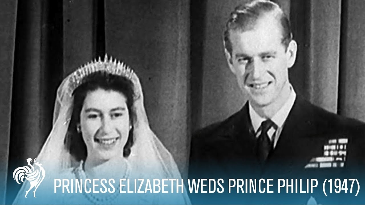 Queen Elizabeth Hochzeit A Royal Wedding Princess Elizabeth Weds Philip 1947 British Pathé