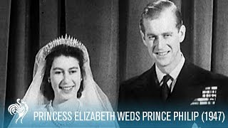 Relive the royal wedding of 1947 between young princess elizabeth and prince philip. for more videos on queen ii, including festivitie...