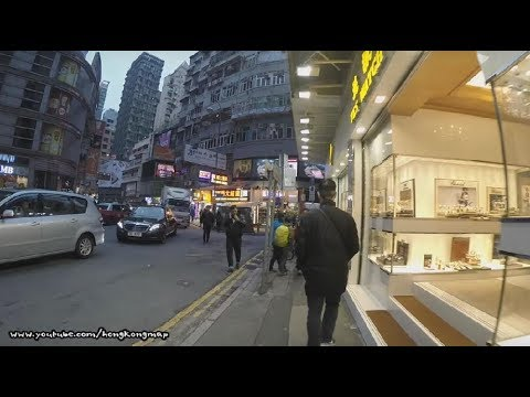 【Hong Kong Walk Tour】Winter 8 Degree Celsius In Tsim Sha Tsui
