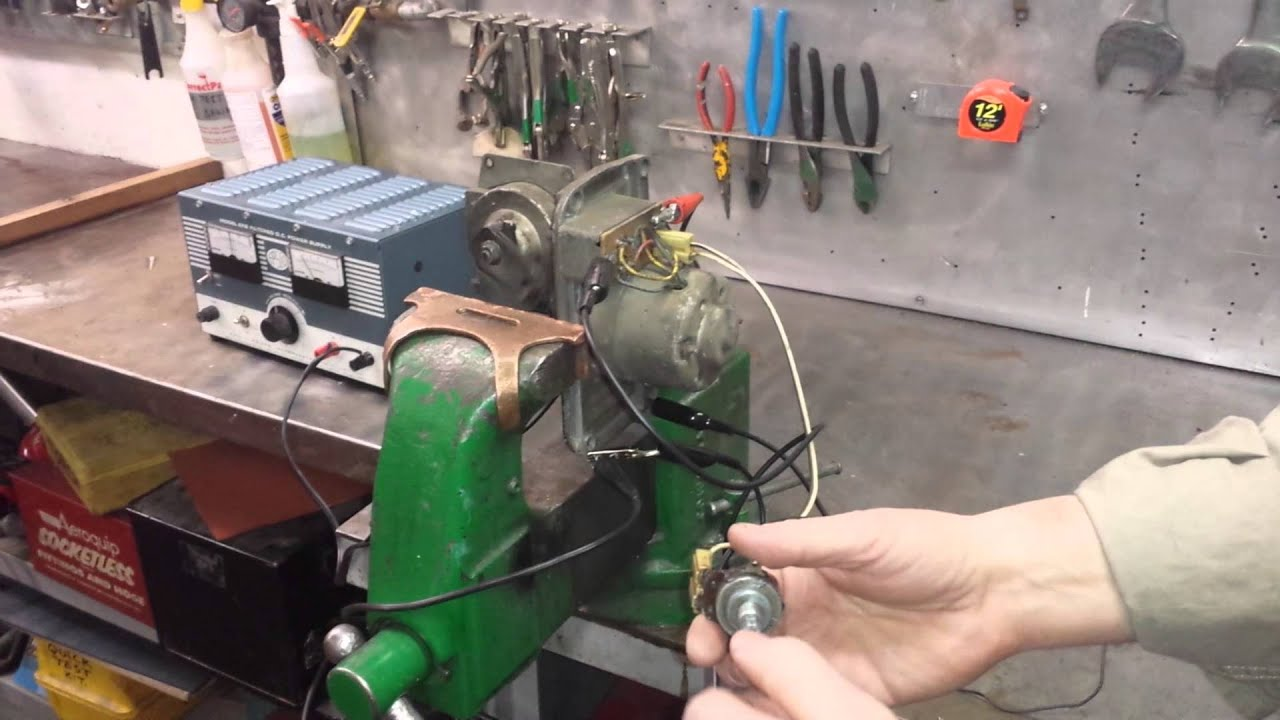 Chevrolet Wiper Motor Wiring 1959 Chevy Truck A Original Youtube