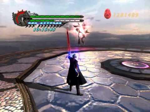 Devil May Cry 4 BP. Super Nero vs Super Dante