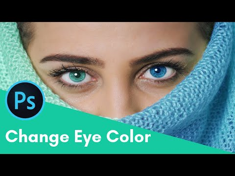How To Change Eye Color Easily In 3 Min | Photoshop Tutorial (2019)