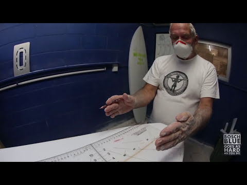 Building A Surfboard: Fin Placement