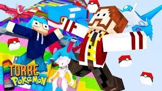 Minecraft TORRE PIXELMON - NECROZMA, XURKITREE, ARCEUS, GIRATINA, KYUREM E KYOGRE NA MESMA EQUIPE !