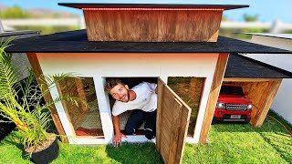 Best EXTREME Tiny House Wins!  Challenge