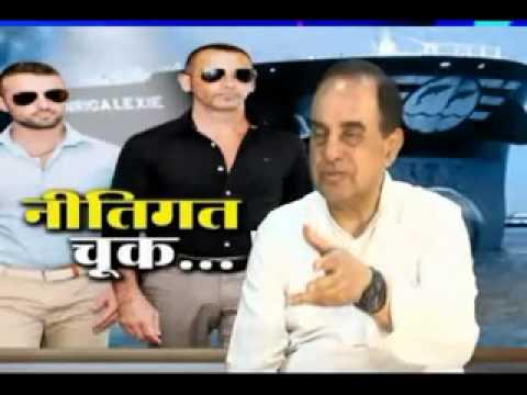 Dr Subramanian Swamy talks about Italian Marines and Sri Lanka issue on Sudarshan News TV