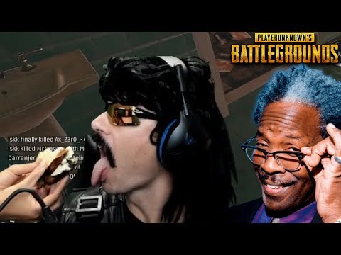 Doc's Wife Cleans the Doc after Spilling Food and Funny Moments on PUBG!