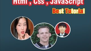 Learn HTML and CSS Tutorial. How to make best  website from scratch