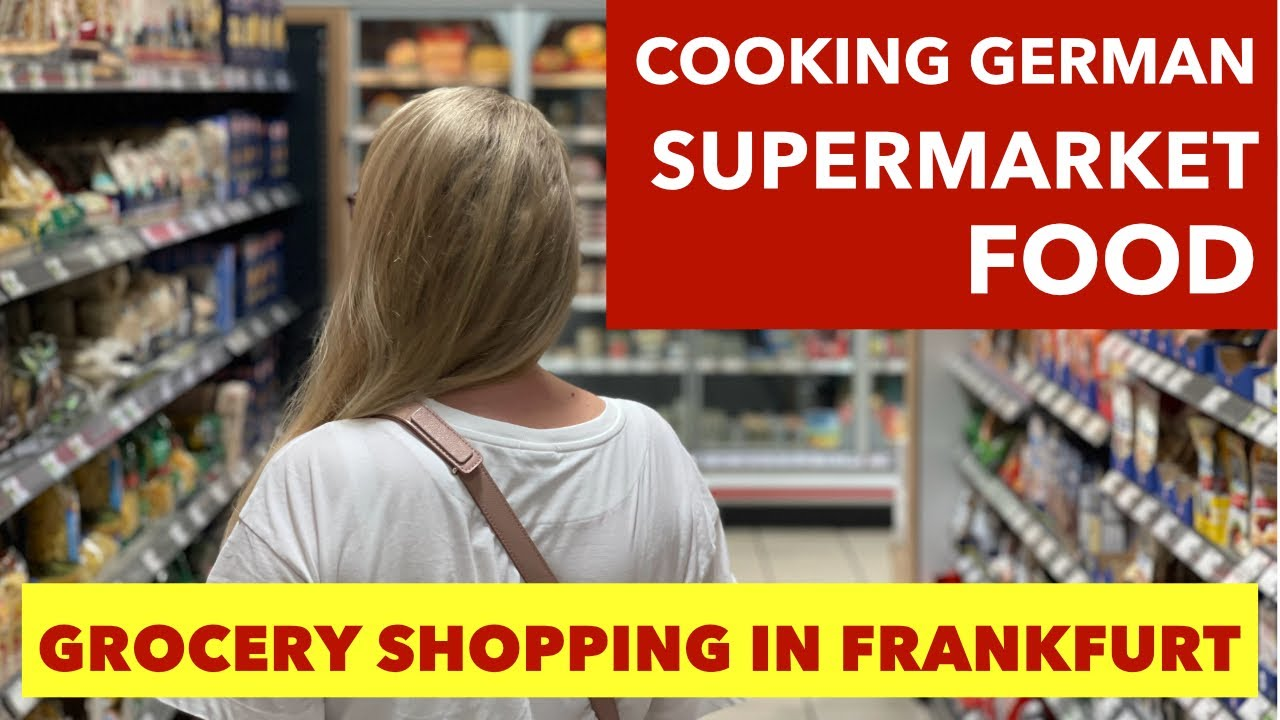 Download Cooking German Foods and Grocery Shopping in a German Supermarket