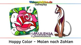 Happy Color - Malen nach Zahlen Gameplay