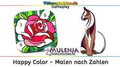 Happy Color - Malen nach Zahlen Gameplay