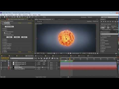 Animating in Element 3D