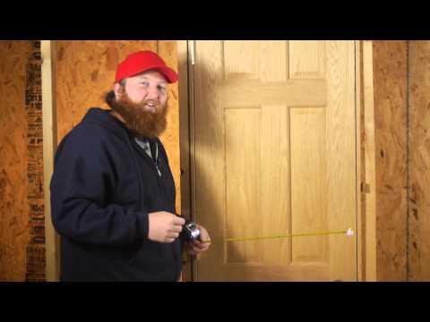 Measuring Doors For Replacement : Door Installation & Repairs