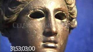 0456 Bronze bust of Nike, Greek goddess of Victory (replica)