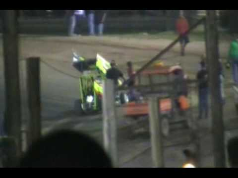 Fight Night Paradise Speedway  2009 #48 Micro Sprit Cars 600 Pro Class #31p Patch Brown