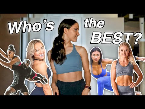 I Exercised Like the MOST UNDERRATED Fitness Youtubers for a WEEK! (Caroline Girvan, Sami Clarke...)