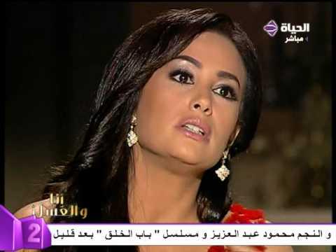 ظهور عاليا ابنة هند صبري للمرة الأولى على التليفزيون