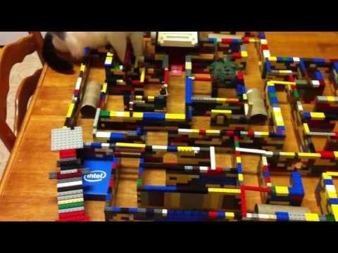 Hamster Lego Maze