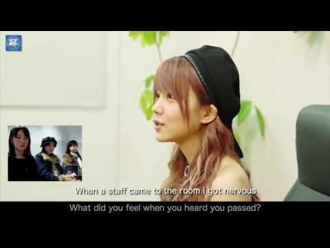 Tanaka Reina Interview 3 - The 6th Generation Audition (English Sub)