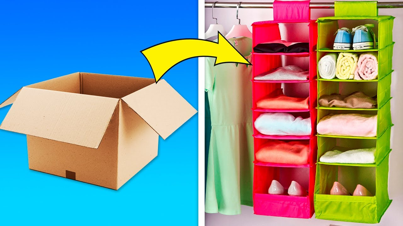 28 Smart Organization Hacks And DIYs