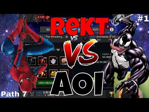 AW S4 #1: reKT- Vs AOI (Path 7)  l  Marvel Contest Of Champions