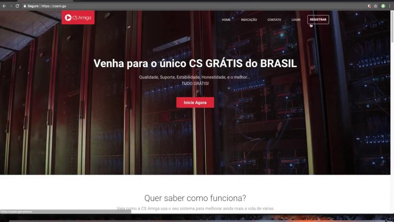15/06/2019 - SERVIDOR CS 100% GRÁTIS POR TEMPO INDETERMINADO