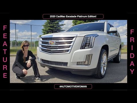 2020 Cadillac Escalade Platinum Edition Review & Test Drive