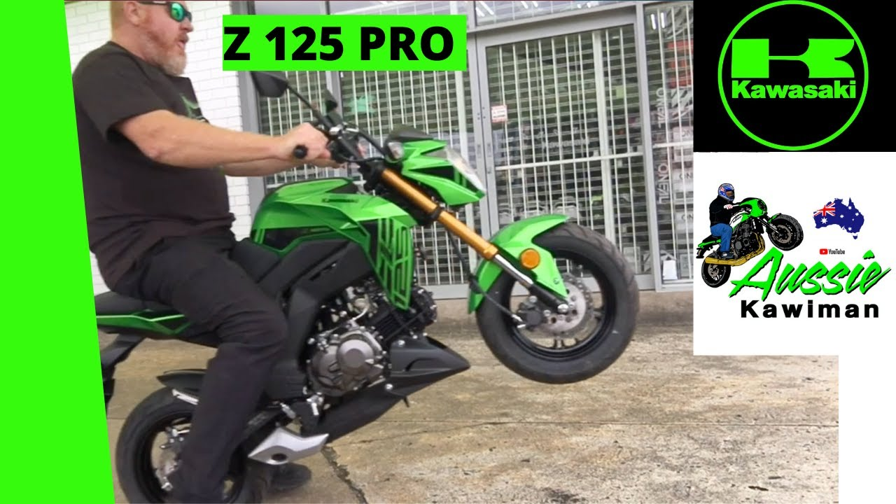 Hang on to The Z125, Kawasaki's Smallest Road bike..