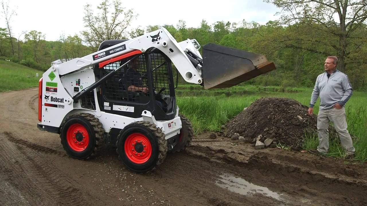 How To Operate A Bobcat Skid Steer Youtube