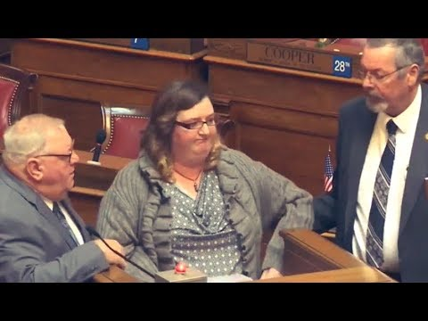 Woman Removed from Legislature for Naming & Shaming Corrupt Politicians