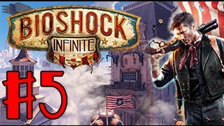 Bioshock Infinite fr episode 5 : Elizabeth me sauve sans cesse