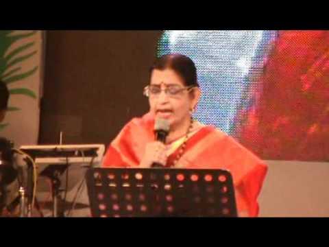 P. Susheela live in hridayaraga for KJ Yesudas