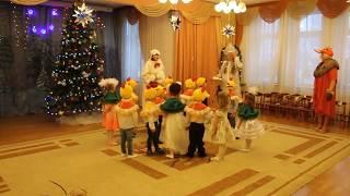 Играем в снежки Детский утренник