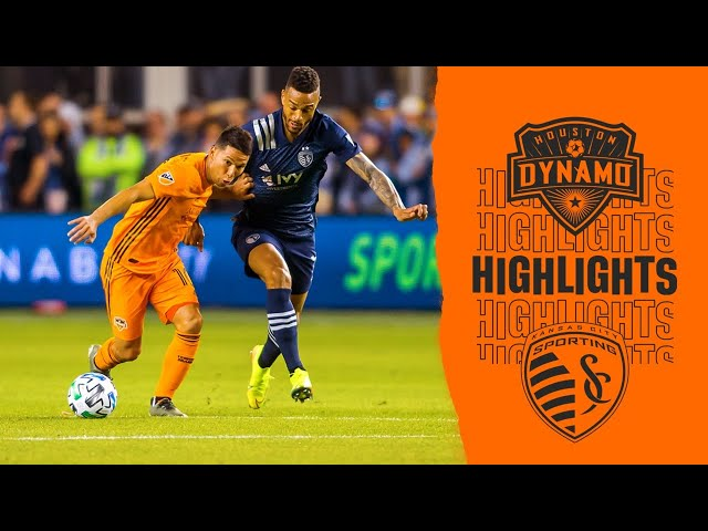 Dynamo 0-4  Kansas City | Highlights
