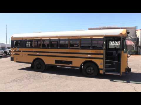 2003 Blue Bird TC/2000 School Bus B07862 - YouTube