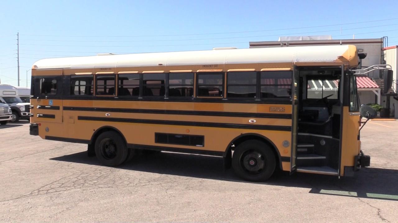 Blue Bird Bus >> 2003 Blue Bird TC/2000 School Bus B07862 - YouTube