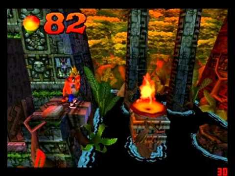 Crash Bandicoot - Guía de Gemas parte 1 (Gemas de colores + Llaves) por Ditto