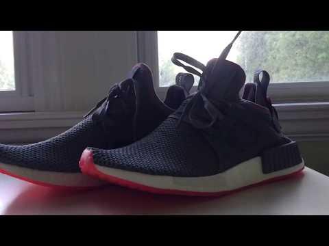 Adidas Originals prophere (negro / solar red) unboxing en YouTube