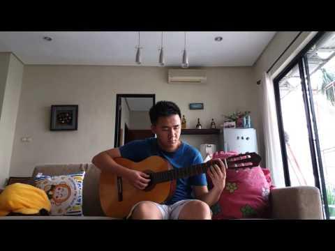 Rio febrian-Aku bertahan (Guitar cover)