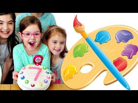 Birthday Party ART Extravaganza