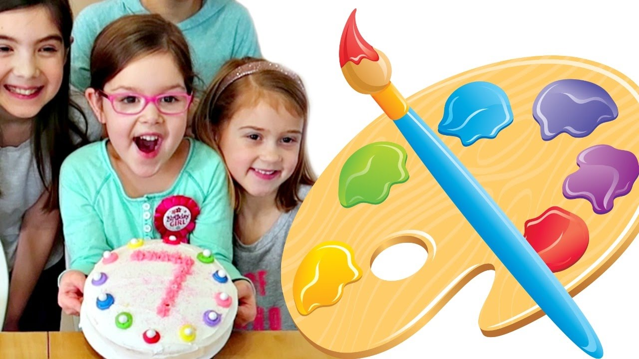 Birthday Party Art Extravaganza🎂 Youtube